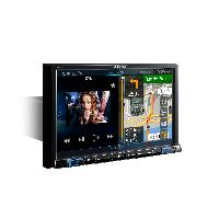 Autoradio X801D-U - Station GPS Multimedia 1DIN WMAMP3AACFLAC - Bluetooth - USB - iPhoneAndroid - Ecran 8p - Navigation