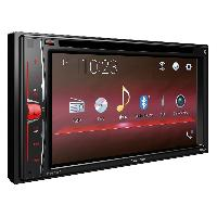 Autoradio avec ecran video AVH-A200BT - Autoradio 2DIN DVDMP3 - USB AUX Bluetooth Ecran tactile 6.2p -> AVH-A210BT