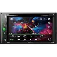 Autoradio avec ecran video AVH-A210BT - Autoradio 2DIN DVDMP3 - USBAUX - Bluetooth Ecran tactile 6.2p