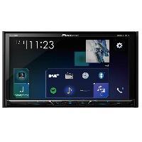 Autoradio avec ecran video AVH-Z5100DAB Autoradio DVDMP3 - iPhoneAndroidUSB BluetoothCarplayWaze - Ecran 7p