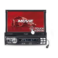 Autoradio avec ecran video Autoradio numerique USBSD - tuner DAB+FMAM - AUX - Bluetooth 4X75W