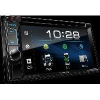 Autoradio avec ecran video DDX4018BT Autoradio 2 Din multimedia Ecran VGA 6.2 pouces DVD CD USB - Bluetooth - couleurs variables