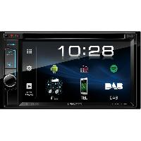 Autoradio avec ecran video DDX4018DAB - Systeme multimedia 2DIN DVD DAB+ Bluetooth - Ecran 6.2p