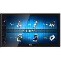 Autoradio avec ecran video KW-M24BT - Autoradio Multimedia 2 DIN - Bluetooth - Ecran tactile 6.8 pouces