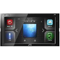 Autoradio avec ecran video KW-M540BT - Autoradio Multimedia 2 DIN - Bluetooth - Ecran tactile 6.8 pouces WVGA
