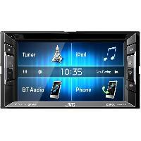 Autoradio avec ecran video KW-V240BT - Autoradio multimedia DVDCDUSB - Ecran tactile 6.2 pouces - Bluethooth K2
