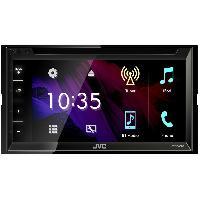 Autoradio avec ecran video KW-V340BT - Autoradio multimedia DVDCDUSB - Ecran VGA tactile 6.2 pouces - Bluethooth K2