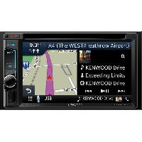 Autoradios GPS DNX4180BTS - Systeme navigation Garmin AV Controle smartphone Bluetooth - Ecran 6.2p
