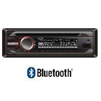 Autoradios TAKARA CDU1755BT Autoradio CD Bluetooth Kit mains libres USB AUX AUR