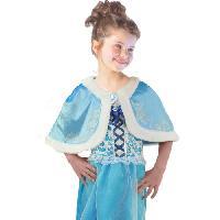 Autre Accessoire Deguisement Vendu Seul CESAR Cape Velours - Bleu - Pour enfant 5 a 10 ans