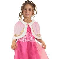 Autre Accessoire Deguisement Vendu Seul CESAR Cape Velours - Rose - Pour Enfant 5 a 10 ans