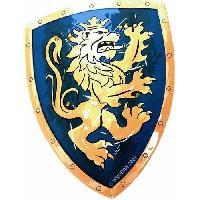 Autre Accessoire Deguisement Vendu Seul LIONTOUCH Bouclier Chevalier Lion Dore