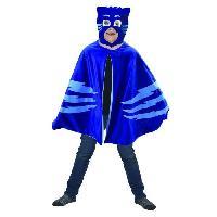 Autre Accessoire Deguisement Vendu Seul PJMASKS Cape + Plaid Yoyo Bleu