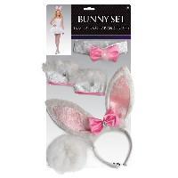 Autre Accessoire Deguisement Vendu Seul Set Bunny Accessoire Adulte