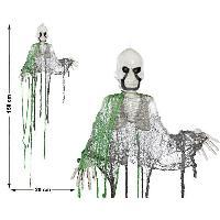 Autre Accessoire Deguisement Vendu Seul Squelette a suspendre pvc 150 x 20 cm