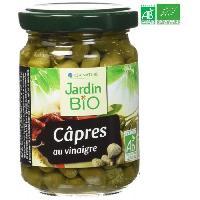 Autres Legumes En Conserve Capres au vinaigre bio - 140g