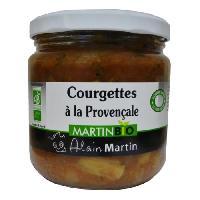 Autres Legumes En Conserve Courgettes a la Provencale BIO 380G
