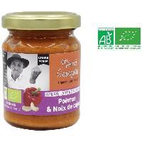 Autres Sauces Froides - Barbecue - Burger - Bearnaise MEME GEORGETTE Creme de poivron et noix de cajou bio - 125 g