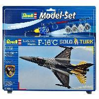 Aviation A Construire Model-Set F-16 C SOLO TURK - Maquette