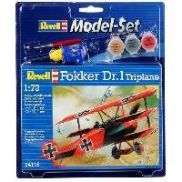 Aviation A Construire Model-Set Fokker DR. 1 Triplan - Maquette
