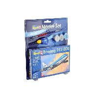 Aviation A Construire Model Set Boeing 747-200 1:450 - Revell