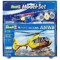 Aviation A Construire REVELL Model-Set Airbus Heli EC135 ANWB - Maquette