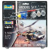 Aviation A Construire REVELL Model-Set Bell UH-1H Gunship - Maquette