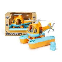 Aviation Miniature ASMOKIDS - GREEN TOYS - L'Hélicoptere Orange - Kanai Kids