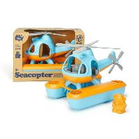 Aviation Miniature ASMOKIDS - GREEN TOYS - L'Hélicoptere de Bain Bleu - Kanai Kids