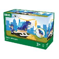 Aviation Miniature BRIO World  - 33828 - Hélicoptere de Police