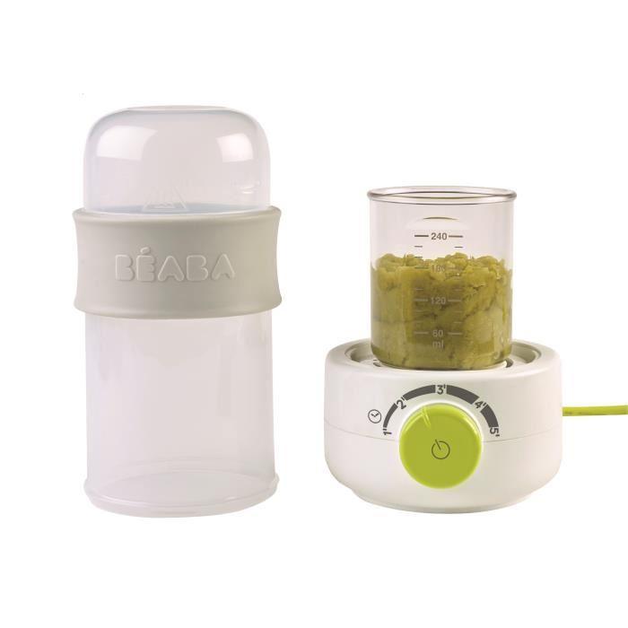 BEABA-Baby-Milk-Second-neon-chauffe-biberon-vapeur-Deltababy miniature 4