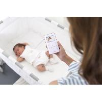 Baby Phone - Ecoute Bebe MINILAND - Ecoute-bébé portabilité maximum avec panneau frontal tactile. Digimonitor 2.4 gold