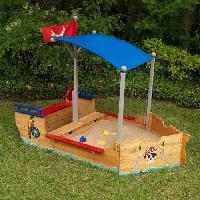 Bac A Sable - Sac De Sable KIDKRAFT 00128 Bac a sable Bateau de pirate