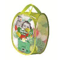 Bac A Sable - Sac De Sable LUDI 75 balles de jeu avec sac de transport Vert