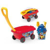 Bac A Sable - Sac De Sable MICKEY Smoby Chariot De Plage Garni - Disney