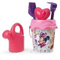 Bac A Sable - Sac De Sable MINNIE Smoby Seau Garni - Disney