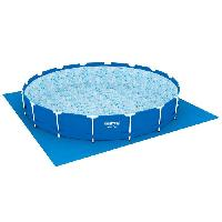 Bache - Couverture - Volet - Enrouleur BESTWAY Tapis de sol pour piscine ronde Fast Set Pools ou Steel Frame Pools - Ø 487 cm
