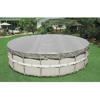 Bache - Couverture - Volet - Enrouleur Bache pour piscine ronde deluxe 4.88m