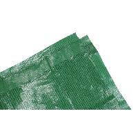 Bache - Couverture - Volet - Enrouleur TECHIT Bache armee lourde 180gm2 - 4 x 6m - Verte