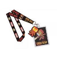 Badge - Kit Creation Badge Dragonne - Caoutchouc Funko Pop ! Marvel Comics - Iron Man