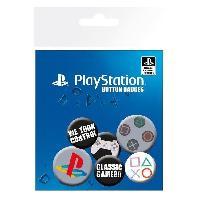 Badges - Pin's 6 Pin's GB Eye Playstation Classic