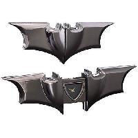 Badges - Pin's Horloge pliante Batman - Symbole Batman - Gris metal