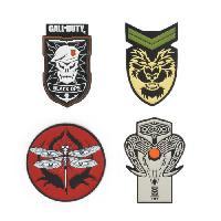 Badges - Pin's Set de 4 Pins Call of Duty Black Ops 4 Badge