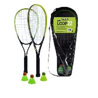 Badminton STIGA Set de speed badminton Loop 22 - Noir et vert