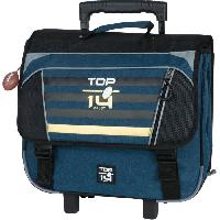 Bagagerie CARTABLE A ROULETTES - TOP 14 ORIGINE