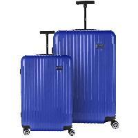 Bagages BARTOLI Ensemble de 2 valises 55/75cm Bleu Balmain