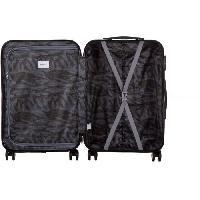 Bagages BERENICE Valise long week-end 65cm avec 8 roues - Couleur Bleu Marine