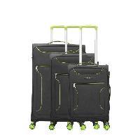 Bagages BLUESTAR Set de 3 Valises concorde Vert