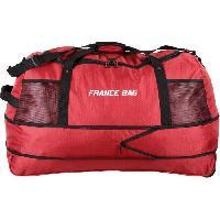 Bagages FRANCE BAG Sac de Voyage Pliable XXL Polyester 81cm Rouge