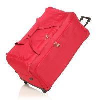 Bagages FRANCE BAG Sac de Voyage a Roulettes Souple 82 cm Rouge